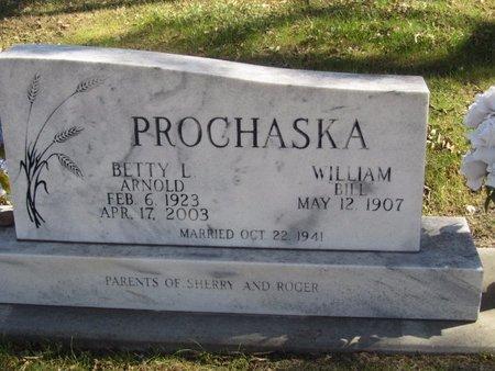 ARNOLD PROCHASKA, BETTY L. - Buffalo County, Nebraska | BETTY L. ARNOLD PROCHASKA - Nebraska Gravestone Photos