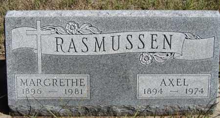 RASMUSSEN, AXEL - Buffalo County, Nebraska | AXEL RASMUSSEN - Nebraska Gravestone Photos