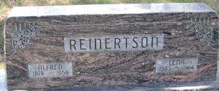 REINERTSON, ALFRED - Buffalo County, Nebraska | ALFRED REINERTSON - Nebraska Gravestone Photos