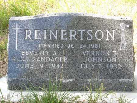 REINERTSON, BEVERLY A. - Buffalo County, Nebraska | BEVERLY A. REINERTSON - Nebraska Gravestone Photos