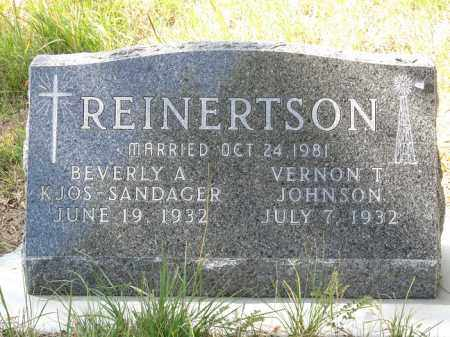 KJOS - SANDAGER REINERTSON, BEVERLY A. - Buffalo County, Nebraska | BEVERLY A. KJOS - SANDAGER REINERTSON - Nebraska Gravestone Photos