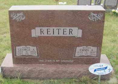 REITER, GEORGE - Buffalo County, Nebraska | GEORGE REITER - Nebraska Gravestone Photos