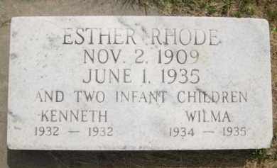 RHODE, KENNETH - Buffalo County, Nebraska | KENNETH RHODE - Nebraska Gravestone Photos