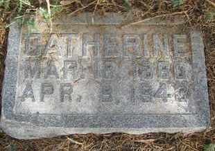RICHTER, CATHERINE - Buffalo County, Nebraska | CATHERINE RICHTER - Nebraska Gravestone Photos