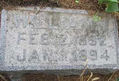 RICHTER, WILLIAM - Buffalo County, Nebraska   WILLIAM RICHTER - Nebraska Gravestone Photos