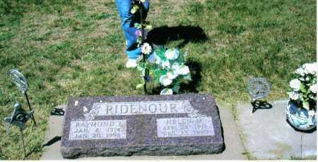 RIDENOUR, HELEN MARIE - Buffalo County, Nebraska | HELEN MARIE RIDENOUR - Nebraska Gravestone Photos