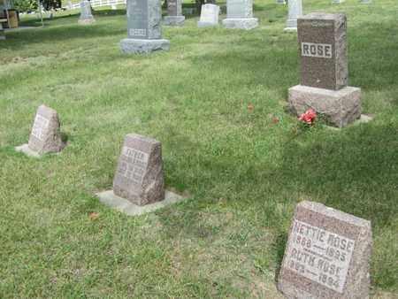 ROSE, RUTH - Buffalo County, Nebraska | RUTH ROSE - Nebraska Gravestone Photos