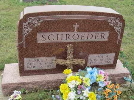 SCHROEDER, EVA - Buffalo County, Nebraska | EVA SCHROEDER - Nebraska Gravestone Photos