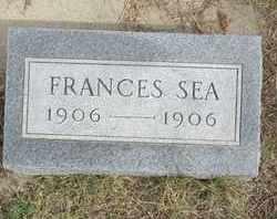 SEA, FRANCES - Buffalo County, Nebraska | FRANCES SEA - Nebraska Gravestone Photos