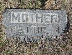 BROWN, NETTIE M. - Buffalo County, Nebraska | NETTIE M. BROWN - Nebraska Gravestone Photos