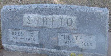 SHAFTO, THELMA G. - Buffalo County, Nebraska | THELMA G. SHAFTO - Nebraska Gravestone Photos