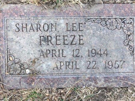 FREEZE, SHARON LEE - Buffalo County, Nebraska | SHARON LEE FREEZE - Nebraska Gravestone Photos