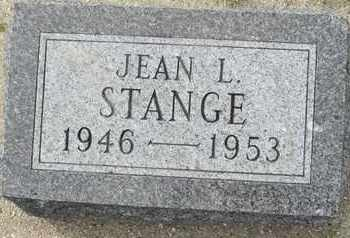 STANGE, JEAN - Buffalo County, Nebraska | JEAN STANGE - Nebraska Gravestone Photos