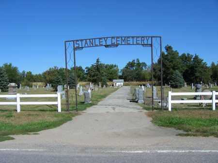 *STANLEY CEMETERY, ENTRANCE TO - Buffalo County, Nebraska | ENTRANCE TO *STANLEY CEMETERY - Nebraska Gravestone Photos