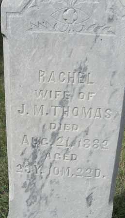 THOMAS, RACHEL - Buffalo County, Nebraska | RACHEL THOMAS - Nebraska Gravestone Photos
