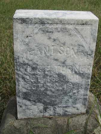 TURNER, INFANT - Buffalo County, Nebraska | INFANT TURNER - Nebraska Gravestone Photos