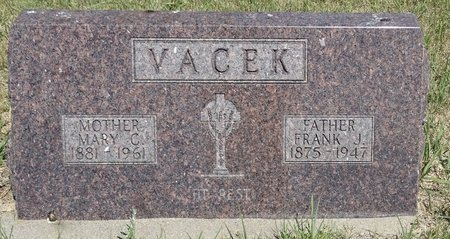 VACEK, FRANK J. - Buffalo County, Nebraska | FRANK J. VACEK - Nebraska Gravestone Photos