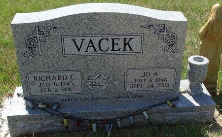 VACEK, RICHARD C. - Buffalo County, Nebraska | RICHARD C. VACEK - Nebraska Gravestone Photos