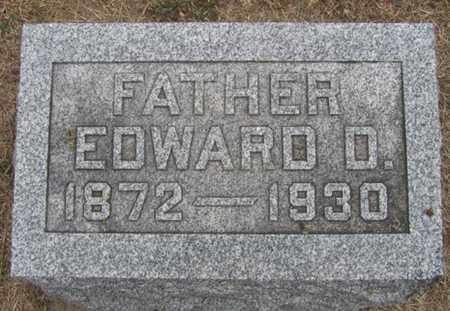 VALEK, EDWARD - Buffalo County, Nebraska   EDWARD VALEK - Nebraska Gravestone Photos