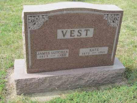 VEST, JAMES - Buffalo County, Nebraska | JAMES VEST - Nebraska Gravestone Photos