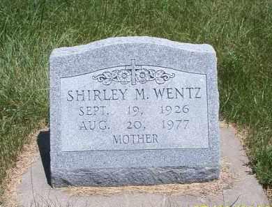 MOWERY WENTZ, SHIRLEY MAE - Buffalo County, Nebraska | SHIRLEY MAE MOWERY WENTZ - Nebraska Gravestone Photos