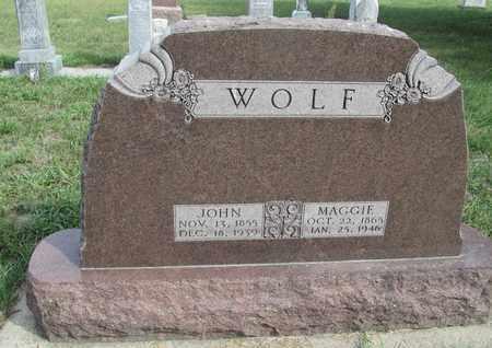WOLF, JOHN - Buffalo County, Nebraska | JOHN WOLF - Nebraska Gravestone Photos