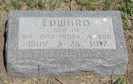 YENDRA, EDWARD - Buffalo County, Nebraska | EDWARD YENDRA - Nebraska Gravestone Photos