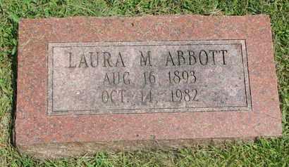 ABBOTT, LAURA M. - Burt County, Nebraska | LAURA M. ABBOTT - Nebraska Gravestone Photos