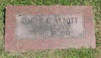 ABBOTT, OSCAR G. - Burt County, Nebraska | OSCAR G. ABBOTT - Nebraska Gravestone Photos
