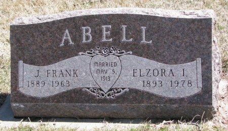 ABELL, ELZORA I. - Burt County, Nebraska | ELZORA I. ABELL - Nebraska Gravestone Photos