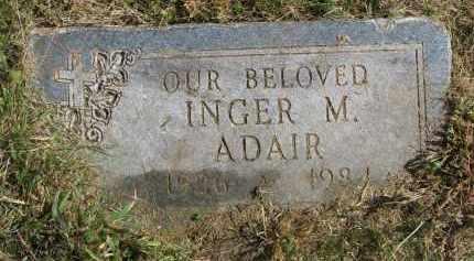 ADAIR, INGER M. - Burt County, Nebraska   INGER M. ADAIR - Nebraska Gravestone Photos