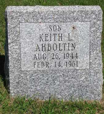 AHBOLTIN, KEITH L. - Burt County, Nebraska | KEITH L. AHBOLTIN - Nebraska Gravestone Photos