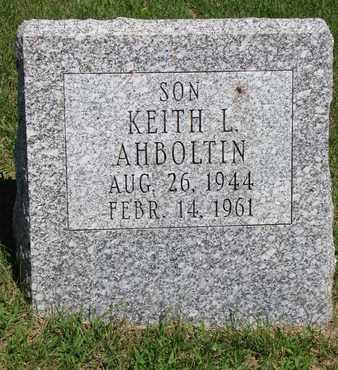 AHBOLTIN, KEITH L. - Burt County, Nebraska   KEITH L. AHBOLTIN - Nebraska Gravestone Photos