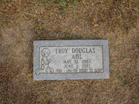 AHL, TROY DOUGLAS - Burt County, Nebraska   TROY DOUGLAS AHL - Nebraska Gravestone Photos