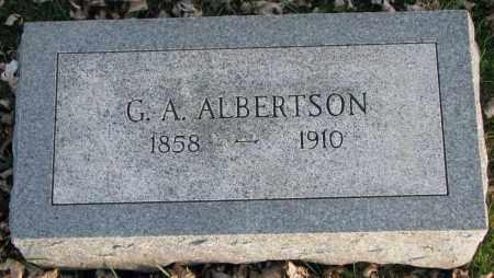 ALBERTSON, G.A. - Burt County, Nebraska   G.A. ALBERTSON - Nebraska Gravestone Photos
