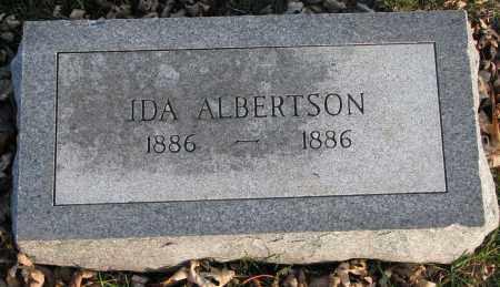 ALBERTSON, IDA - Burt County, Nebraska | IDA ALBERTSON - Nebraska Gravestone Photos