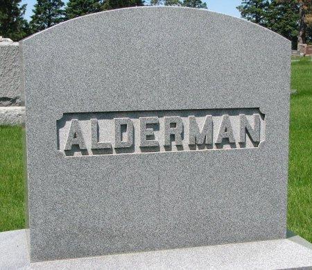 ALDERMAN, *FAMILY MONUMENT - Burt County, Nebraska | *FAMILY MONUMENT ALDERMAN - Nebraska Gravestone Photos
