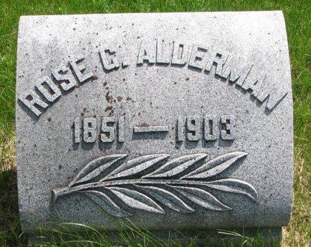 ALDERMAN, ROSE BELLE - Burt County, Nebraska | ROSE BELLE ALDERMAN - Nebraska Gravestone Photos