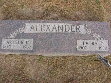 ALEXANDER, ARTHUR T. - Burt County, Nebraska | ARTHUR T. ALEXANDER - Nebraska Gravestone Photos
