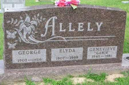 ALLELY, ELYDA - Burt County, Nebraska | ELYDA ALLELY - Nebraska Gravestone Photos