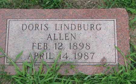 ALLEN, DORIS - Burt County, Nebraska | DORIS ALLEN - Nebraska Gravestone Photos