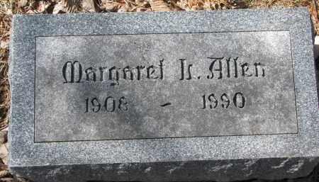 ALLEN, MARGARET - Burt County, Nebraska | MARGARET ALLEN - Nebraska Gravestone Photos