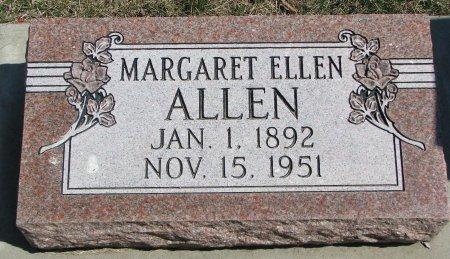 ALLEN, MARGARET ELLEN - Burt County, Nebraska | MARGARET ELLEN ALLEN - Nebraska Gravestone Photos