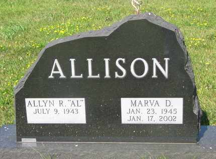 "ALLISON, ALLYN R. ""AL"" - Burt County, Nebraska 