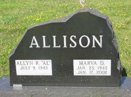 "ALLISON, ALLYN R. ""AL"" - Burt County, Nebraska | ALLYN R. ""AL"" ALLISON - Nebraska Gravestone Photos"