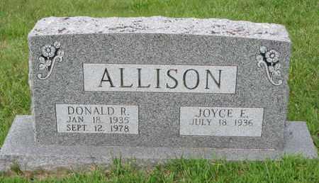 ALLISON, DONALD R. - Burt County, Nebraska | DONALD R. ALLISON - Nebraska Gravestone Photos