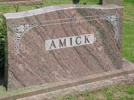 AMICK, (FAMILY MONUMENT) - Burt County, Nebraska   (FAMILY MONUMENT) AMICK - Nebraska Gravestone Photos