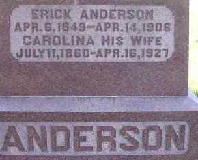 ANDERSON, CAROLINA - Burt County, Nebraska | CAROLINA ANDERSON - Nebraska Gravestone Photos