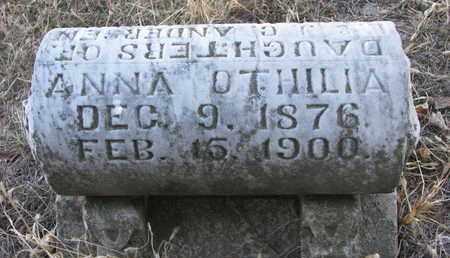 ANDERSEN, ANNA OTHILIA - Burt County, Nebraska | ANNA OTHILIA ANDERSEN - Nebraska Gravestone Photos