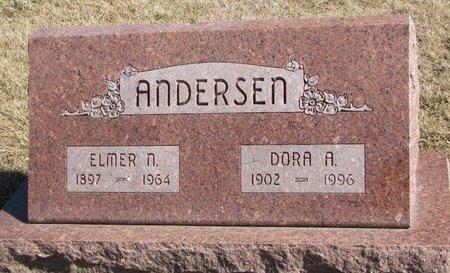 ANDERSEN, DORA A. - Burt County, Nebraska | DORA A. ANDERSEN - Nebraska Gravestone Photos